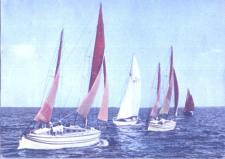 morze-regaty-czerwone-zagle-k-22-2194-i-1965